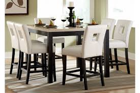 white counter height kitchen table and chairs archstone square faux marble top counter height dining set home