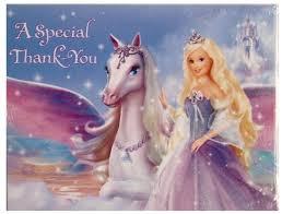 barbie magic pegasus u2013 notes 16 ct ipartybox