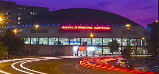 nashville municipal auditorium outdoor view arena floor
