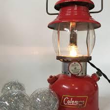 lighting a coleman lantern antique coleman lantern coleman lantern man cave desk l red