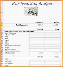 wedding budget template 5 wedding budget template letterhead template sle