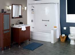 Bathroom With Bath And Shower One Day Bath Remodel Chicago Affordable Bathroom Remodeling