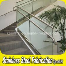 Glass Banisters For Stairs China Residential Stainless Steel Glass Balustrade For Stairs