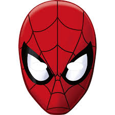 paper halloween mask spiderman paper masks birthdayexpress com