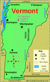 usa map vt vermont facts map and state symbols enchantedlearning