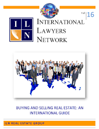 the iln launches u201cbuying and selling real estate an international