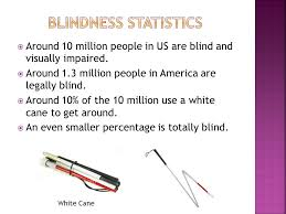 White Cane Blind Technology For The Blind Ppt Download
