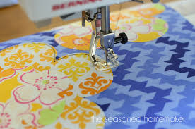sewing machine applique the seasoned homemaker