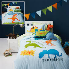 boys quilt covers and bed linen from adairs kids dinosaur kids