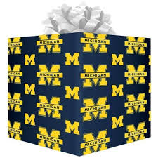 football wrapping paper cheap michigan wolverines logo gift wrap paperfootball fanatics