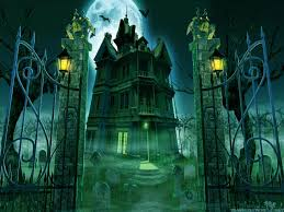 halloween background green halloween graveyard wallpaper wallpapersafari hd pumpkin