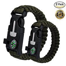 survival rope bracelet kit images Wepower 2pcs survival bracelet outdoor survival jpg