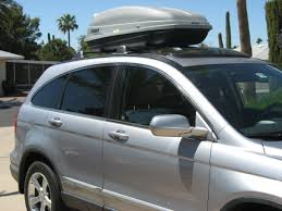 honda crv cargo box roof rack noise level