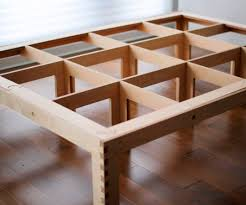 Simple Diy Bed Frame Slotted Bed 6 Steps With Pictures