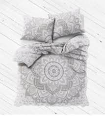 amazon com bohemian cotton doona duvet cover with 2 pillowcases
