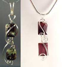 pendant wire necklace images 10 wire wrapped pendant patterns jpg