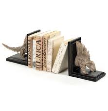 Dragon Bookends Fossil Skeleton Replica Dimetrodon Dinosaur Bookends Kathy Kuo Home