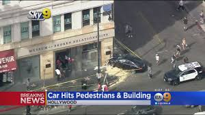 car crashes into museum of broken relationships in hollywood 2