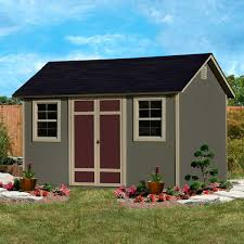 wilmington 12 u0027 x 8 u0027 wood storage shed