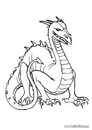 dangerous dragon coloring pages hellokids com