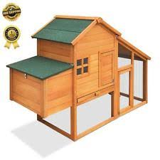 Rabbit Hutch Extension Rabbit Wooden Small Animal Cages Ebay