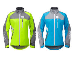 cycling jacket blue hump strobe womens waterproof cycling jacket coat blue or yellow