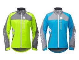cycling jacket blue hump strobe womens waterproof cycling jacket coat blue or yellow