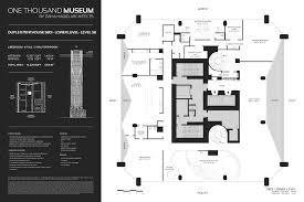 museum floor plans one thousand museum i adore miami