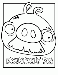 angry birds pigs coloring pages coloring home