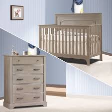 Convertible Crib Changer Combo by Furniture Rustic Nursery Furniture Gray Convertible Crib
