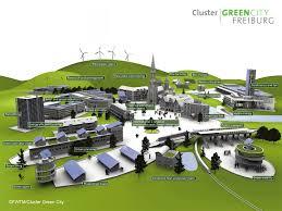 Freiburg Germany Map by Freiburg Green City Wwf