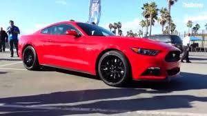 Black 2015 Mustang 2015 Mustang At Venice Beach Youtube