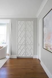 Wall To Wall Closet Doors Fretwork Bedroom Closet Doors Design Ideas