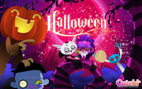 free cute halloween background kawaii halloween wallpaper computer