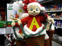 alvin and the chipmunks animated decoration