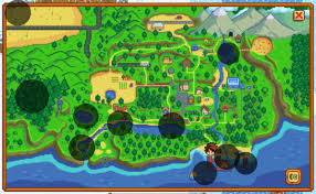 Valley Fair Map Stardew Valley Fishing Guide