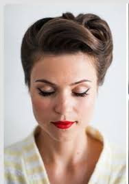 50s updo hairstyles best 25 1950s updo ideas on pinterest 50s hairstyles pinup