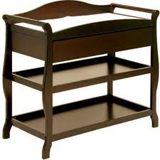 Espresso Changing Table Storkcraft Aspen Changing Table With Drawer Espresso Walmart