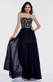 strapless navy blue prom dress naf dresses