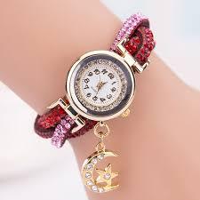 ladies bracelet wrist watches images Women crystal wrist watch band wave bracelet dial quartz analog jpg