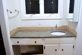 removing the side splash u0026 backsplash from our bathroom sink young