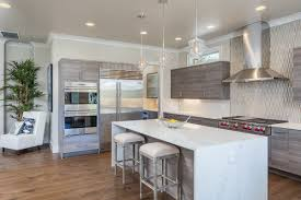 Kitchen Island With Barstools by Kitchen Cozy Laminate Wood Flooring With White Bar Stools And