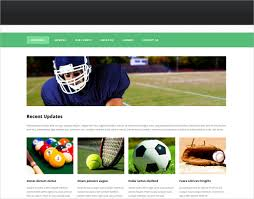 30 sports website themes u0026 templates free u0026 premium templates