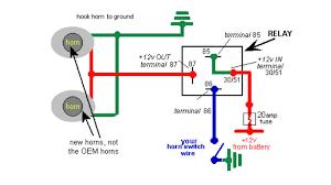 auto horn wiring diagram diagram wiring diagrams for diy car repairs