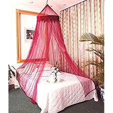 Wine Color Bedroom Amazon Com Dreamma Red Wine Color Bed Canopy Mosquito Net Home