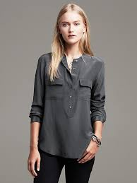 grey silk blouse banana republic grey silk blouse i want to wear that