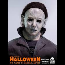 michael myers halloween 2 mask curse of michael myers sixth scale figure