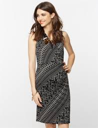 collective concepts sleeveless wrap maternity dress a pea in the
