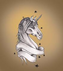 born this way unicorn tattoo design in 2017 real photo pictures