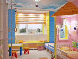 kleines zimmer fr mdels einrichten kinderzimmer komplett gestalten junge und mädchen teilen ein